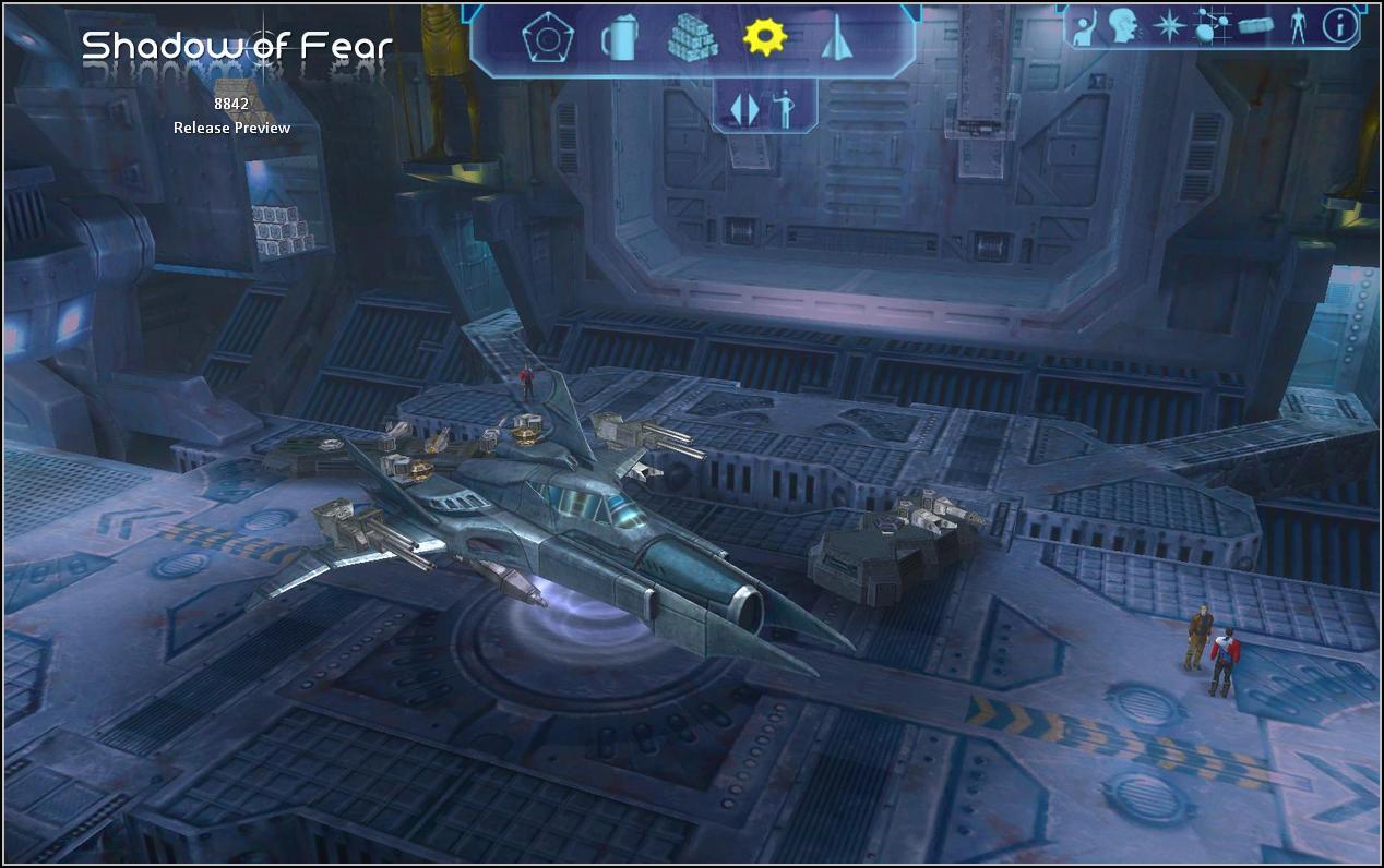 Asgard Admin Ship - Heavy Fighter