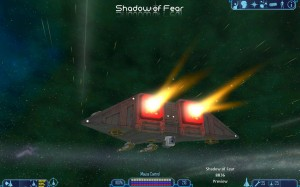 Shadow of Fear USO Light Fighter CLF 17a Mamba