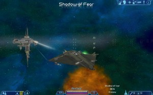 Shadow of Fear USO Heavy Fighter CHF 2X3 Gecko
